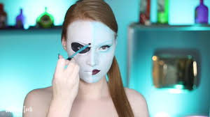 nightmare before jack and sally makeup tutorial