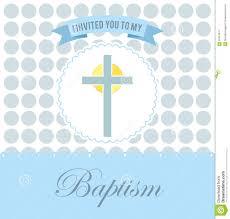 Baptismal Design Background Baptism Invitation Design Stock Vector Illustration Of Type
