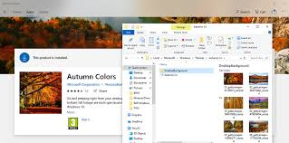Windows Fall Theme Where Does Windows 10 Store Themes