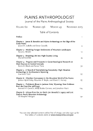 current issue plains anthropological society current issue