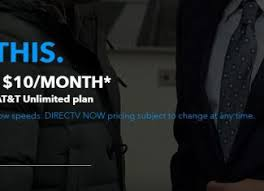 at t wireless customers can subscribe to directv now for as little as 10 month bestmvno