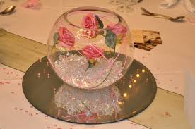 Fish Bowl Decorations For Weddings Fish Bowl Wedding Table Decorations Wedding Dress Decore Ideas 54