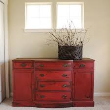 painted red furniture. july 2013 miss mustard seeds milk paint painted red furniture pinterest