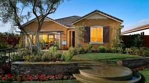 CalAtlantic Homes Residence C - French Country of the Windwood community in  Bakersfield, CA.