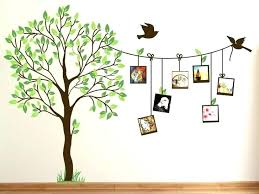 full size of tree wall decor ideas image of cute family decal paint for room kitchen