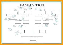 Personal Printable Ancestry Forms Free Pedigree Chart Family