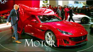 2018 ferrari colors. modren ferrari iaa 2017  all new 2018 ferrari portofino l world reveal to ferrari colors