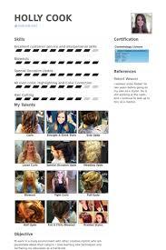 hair stylist resume samples hair stylist sample resume