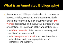 Ppt Tuesday February 18 2014 Writing Annotated Bibliographies
