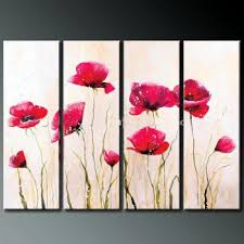 incredible poppy wall art home pictures pretty inspiration poppies blossom iv modern canvas decor floral oil painting with metal glass on stickers nz on bright poppies metal wall art with incredible poppy wall art home pictures pretty inspiration poppies