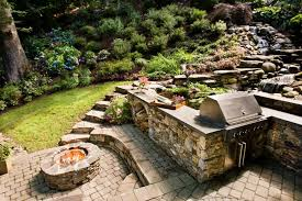 outdoor stone fire pit. Shop This Look Outdoor Stone Fire Pit
