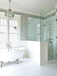 half wall height shower half wall half wall shower ideas fanciful best showers images on master half wall height