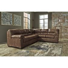 american home furniture store. Bladen 3 Piece Sectional Brown American Home Furniture Store