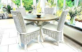 rattan dining room table and chairs wicker dining room chairs wicker dining room table wicker rattan