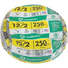 Southwire 250 Ft 12 2 Landscape Lighting Cable Wire Cable Electrical Wire Southwire 13055955 Uf B