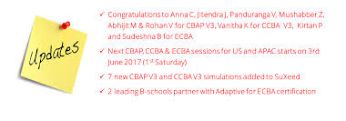 Cbap Ccba Ecba Online Training Question Banks Study Guides