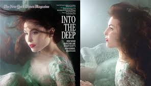 death to women in advertising an ads essay quảng cao ajc the two pictures of noomi rapace on the newyork times magazine