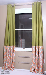No Sew Curtains Ikea Hack No Sew Curtains Just A Girl And Her Blog
