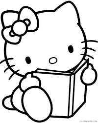 You can also find the best hello kitty accessories. Hello Kitty Coloring Pages Cartoons Easy Hello Kitty Printable 2020 3151 Coloring4free Coloring4free Com