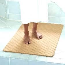 heated floor rug bathroom mats exotic wonderful natural cork bath mat the green head under