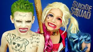 harley quinn and joker squad makeup and costumes