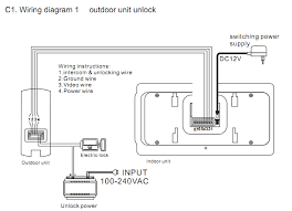 eurbay news 4 wire intercom system connection diagram