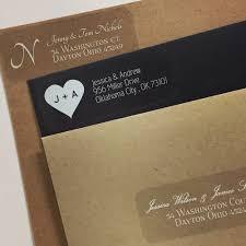 Printed Return Address Label Clear Return Address Labels For Wedding Invitations The