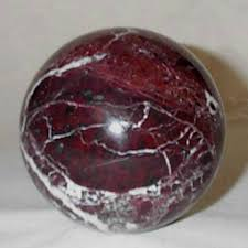 Decorative Marble Balls Decorative Burgundy Marble Sphere Large 100 Inch Dia 2