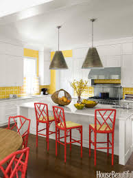 Red And Yellow Kitchen Popular Kitchen Paint And Cabinet Colors Colorful Kitchen Pictures