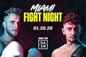 Facebook twitter whatsapp (getty images) watch live boxing and more on dazn. Jake Paul Vs Gib Live Stream Uk Start Time Full Fight Card And Confirmed Rules As Youtube Stars Gear Up For Miami Showdown