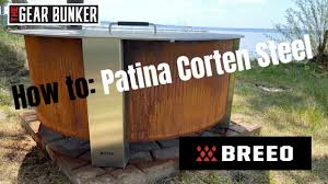 We did not find results for: Breeo X30 Smokeless Fire Pit How To Patina Corten Steel Youtube