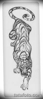 эскиз тату тигра на руке 08032019 Tatufotocom 5 Tatufotocom