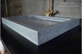 27 gray granite stone bathroom sink corsica