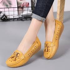 2018 new arrival plus size leak summer loafer