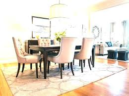 what size rug for dining room what size rug do i need for my dining room