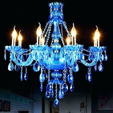 blue crystal chandelier wooden bead luxury designs light swarovski earrings