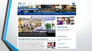 Miami Dade College Web Design Tutor Training Pd Virtual Conference Libguides At Indian