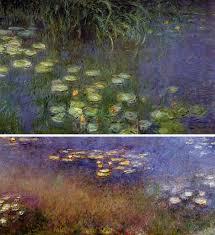 claude monet water lilies murals 1926