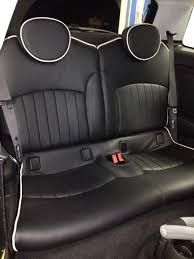 r56 new lounge leather seats installed