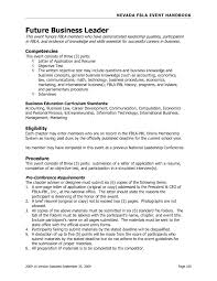 Resume Objective Examples Business Development Save Business Resume