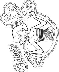totally_spies_cl28 totally spies coloring pages on totally spies coloring pages