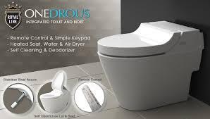 Royal Line Integrated Toilet & Bidet