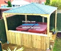 wood gazebo kits for outdoor wooden gazebos kitchen backyard plans outdoor gazebo wood