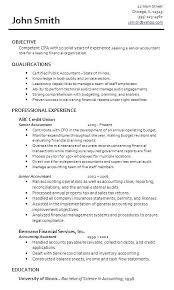 Objective Accounting Resumes Accounting Resume Objectives Examples Serpto