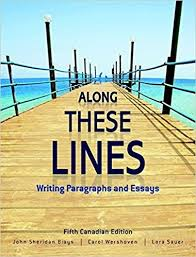 these lines writing paragraphs and essays fifth canadian edition  along these lines writing paragraphs and essays fifth canadian edition plus new mywritinglab pearson etext access