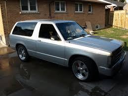 1986 Chevrolet S-10 Blazer - Information and photos - MOMENTcar