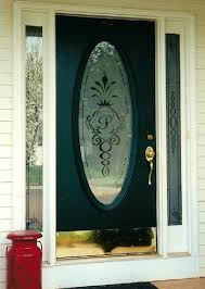doors etched glass design by premier throughout front inspirations 3