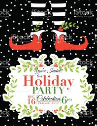 doc holiday party invite templates christmas party elf christmas party invitation template stock vector art 522736021 holiday party invite templates