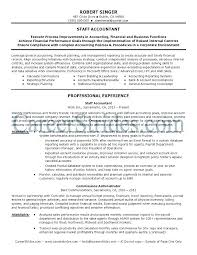Accounting Resumes Objectives Accounting Resume Samples Free Or