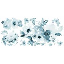 blue wall decals wall decor the